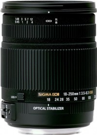18-250mm f/3.5-6.3 DC OS HSM Zoom