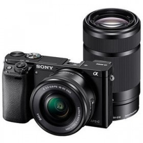 Alpha a6000 Twin lens kit 16-50mm + 55-210mm