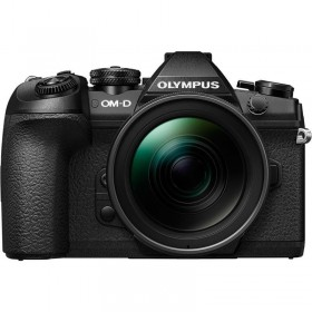 OM-D E-M1 Mark II with 12-40mm PRO Lens Black