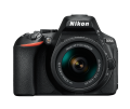Nikon D5600 with 18-55mm AF-P VR Lens Black