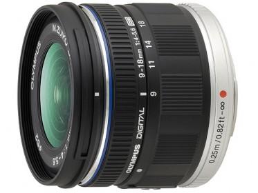 9-18mm f4-5.6 ZUIKO ED Black