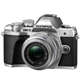 OM-D E-M10 Mark III with 14-42mm R Lens Silver