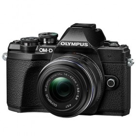 OM-D E-M10 Mark III with 14-42mm R Lens Black