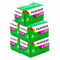 Fuji Fujicolor C200 36 Exposure Colour Film - 5 Pack