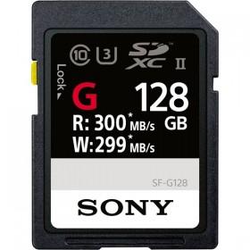 G Series 128GB UHS-II 299 MB/Sec SDHC