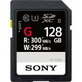 Sony G Series 128GB UHS-II 299 MB/Sec SDHC